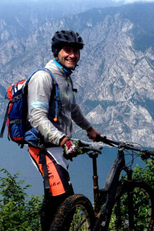 alberto mtb guide of malcesine bike tours