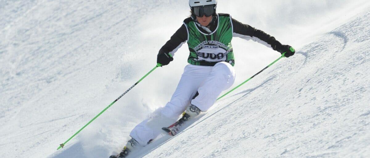 amelia bisicchia sugli sci