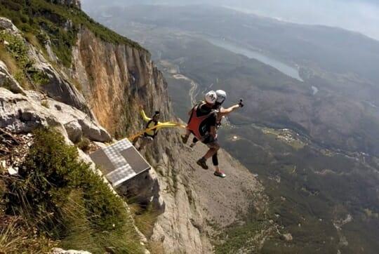 BASE jump Monte Brento