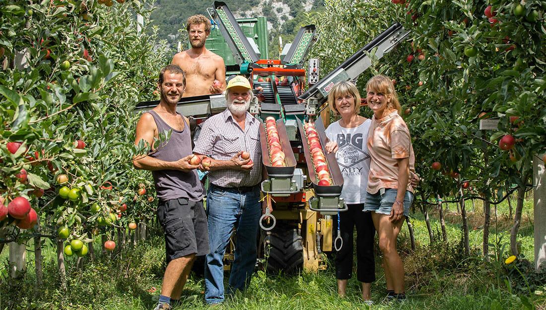 famiglia bortolotti azienda agricola la quadra