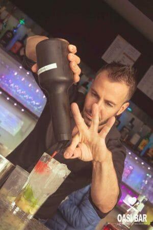preparazione di un ocktail
