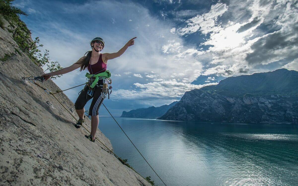 corso arrampicata donna