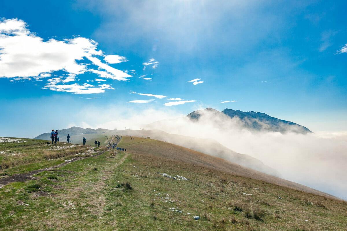 easy walk monte baldo