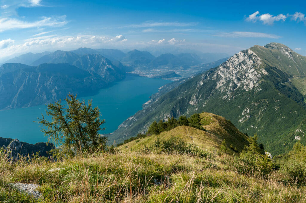 panoramic point on monte baldo