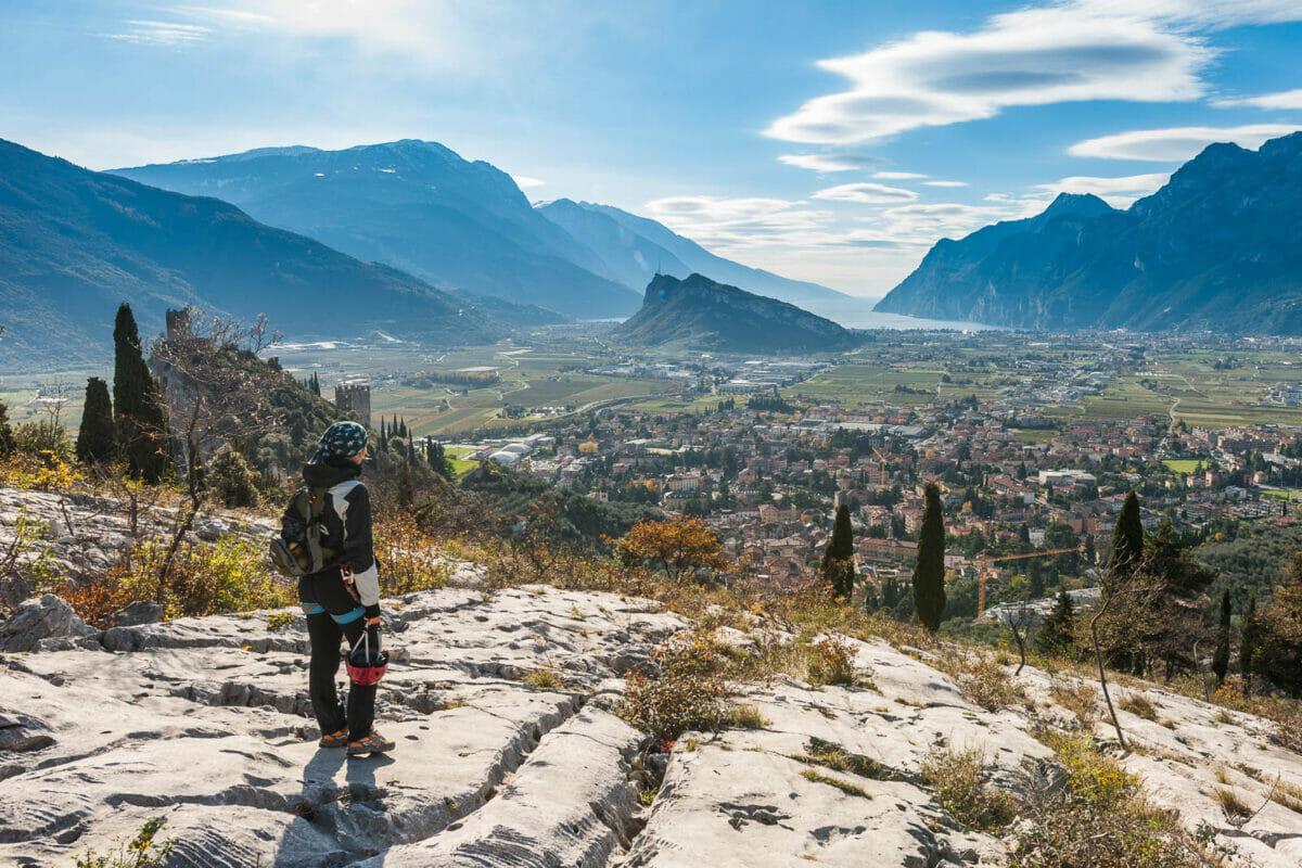 klettersteig Monte Colodri panorama