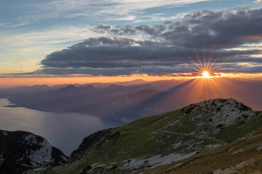 tramonto dal telegrafo