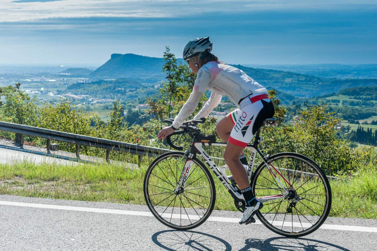 rennrad route gardasee nach caprino