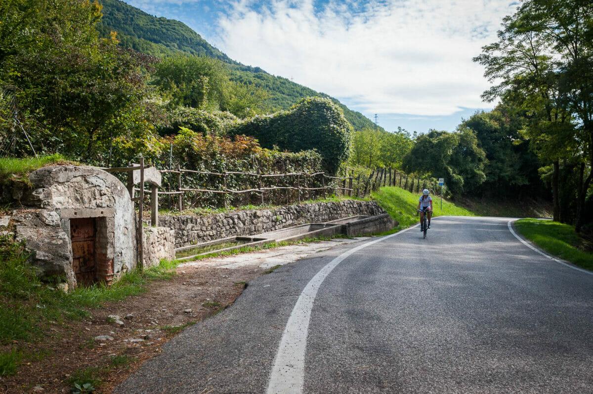 rennrad route gardasee bergstrasse