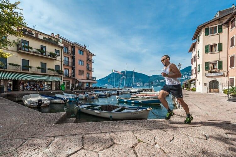 jogging a porto di brenzone