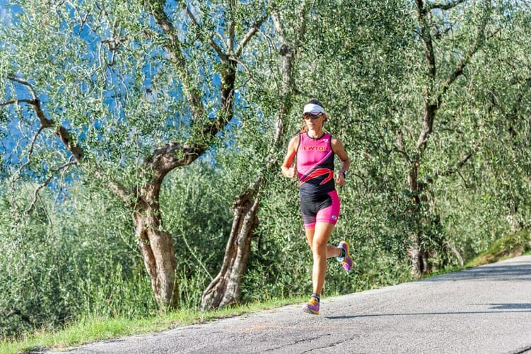 running in collina a brenzone