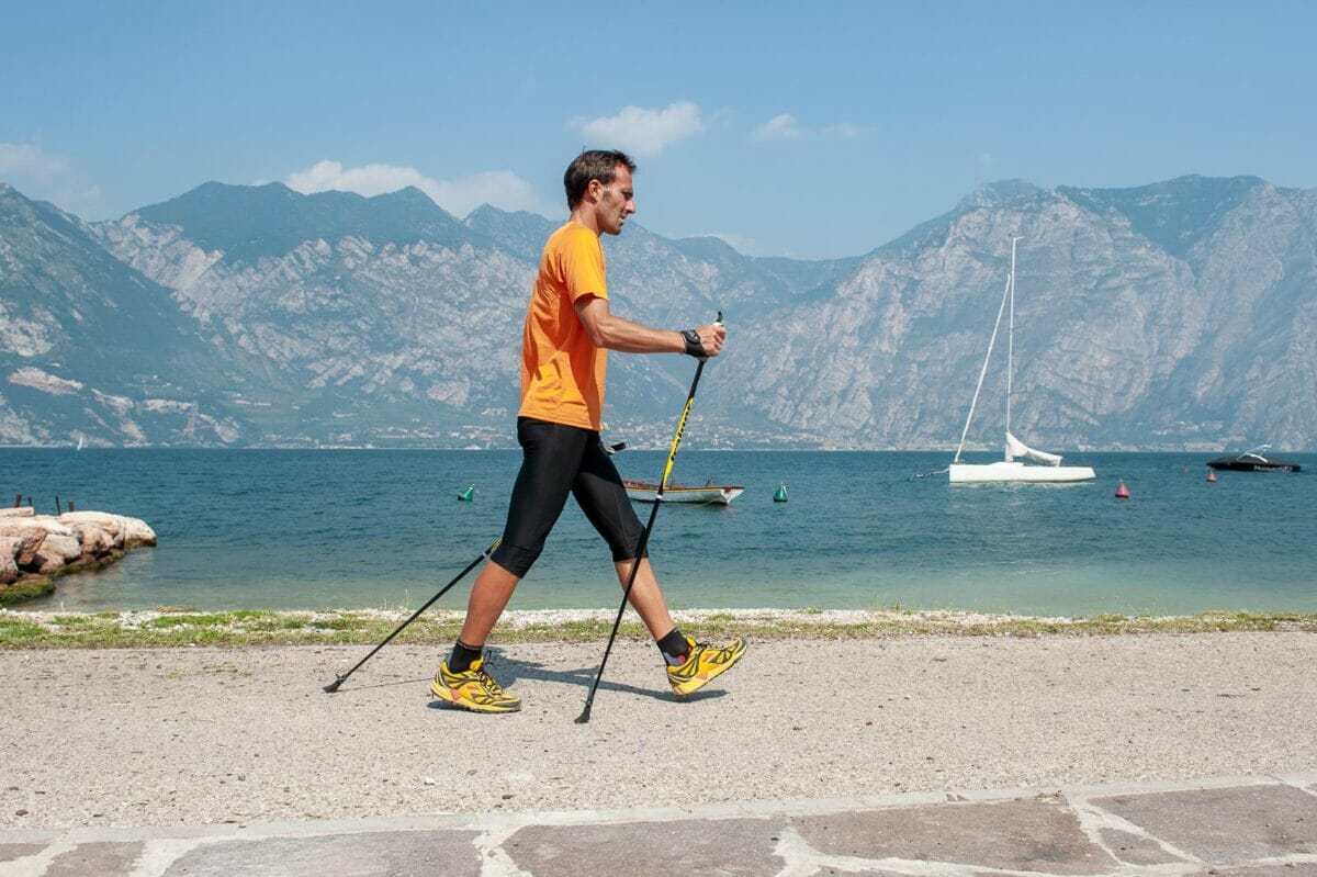 nordic walking mit seeblick