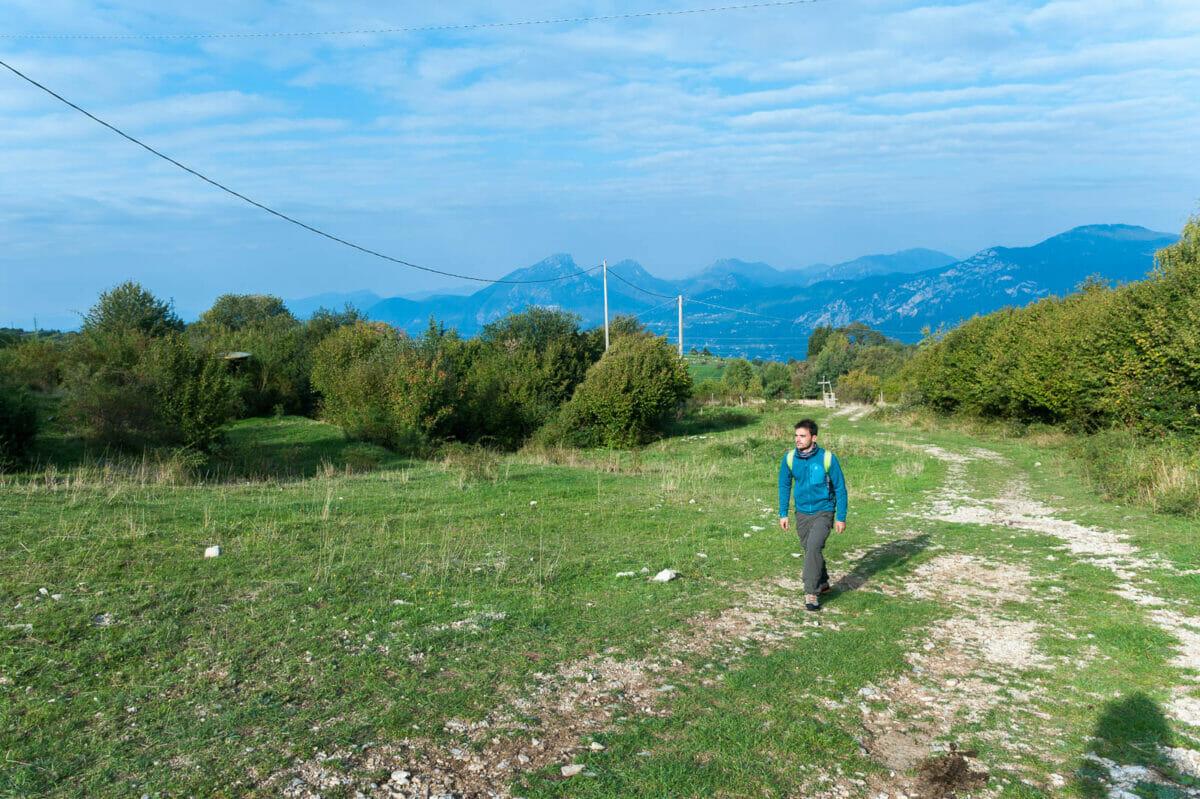trekking trail in prada alta