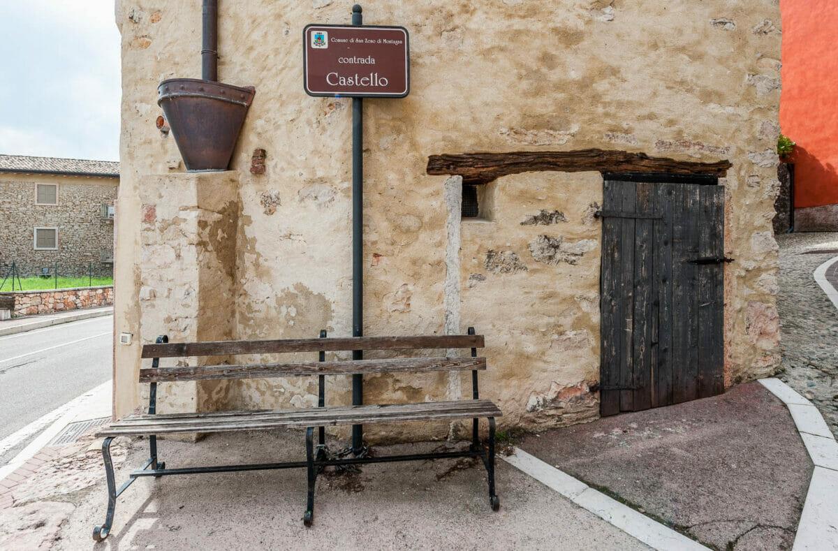 contrada castello of san zeno di montagna