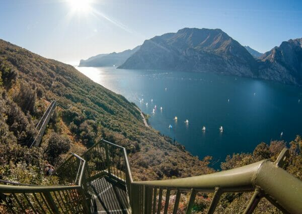 lake view and stairway busatte tempesta