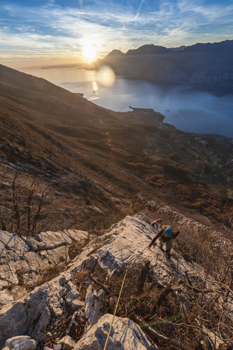 spigolo bianco sul monte baldo