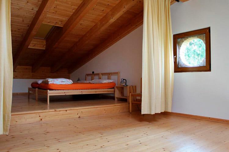 schlafzimmer im dachboden