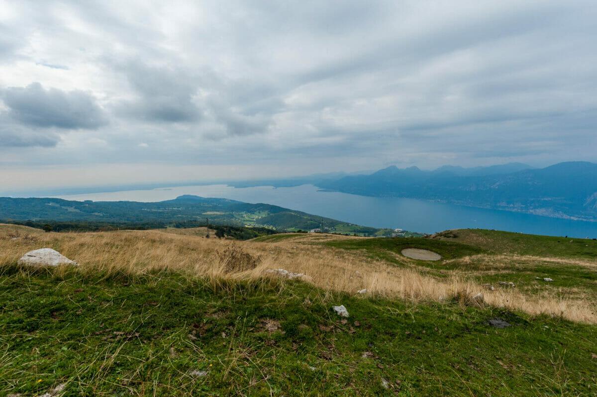 vista lago da prada alta
