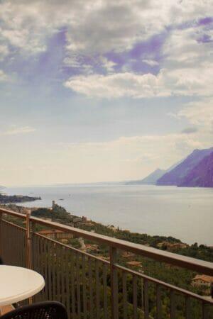 seeblick aus die terrasse