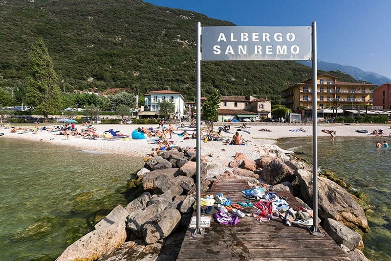 san remo pier and beach