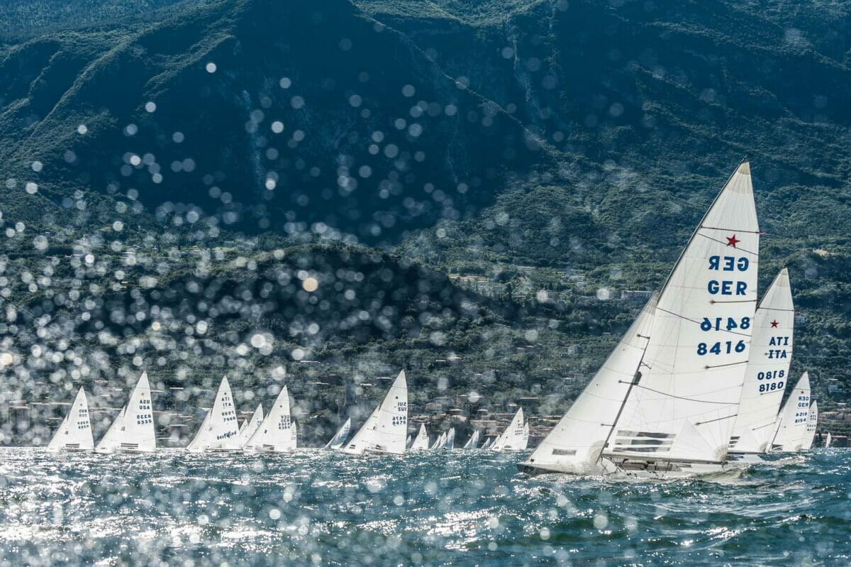 regata di star al lago di garda