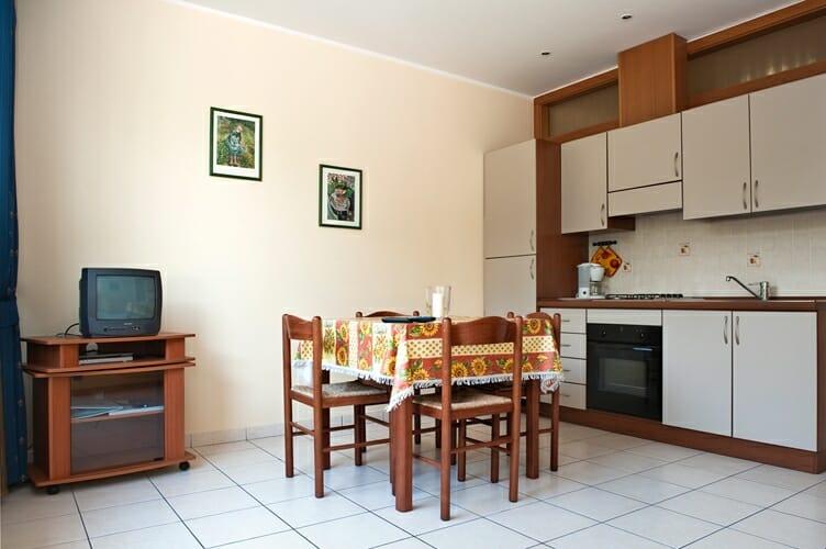 casa facchnetti cucina/soggiorno