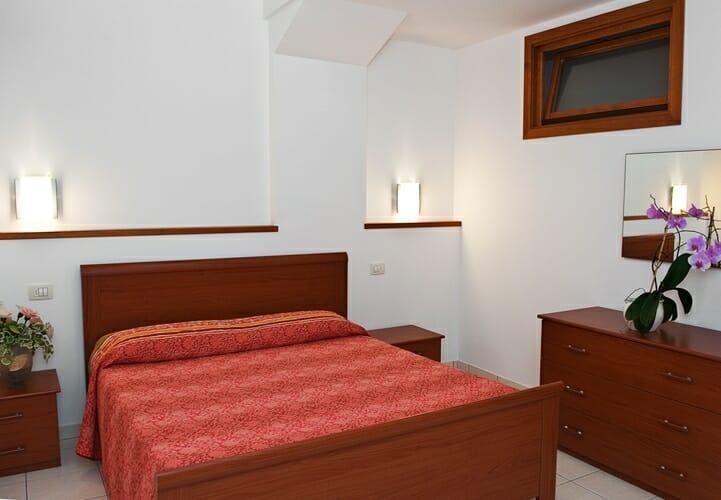 casa facchinetti schlafzimmer