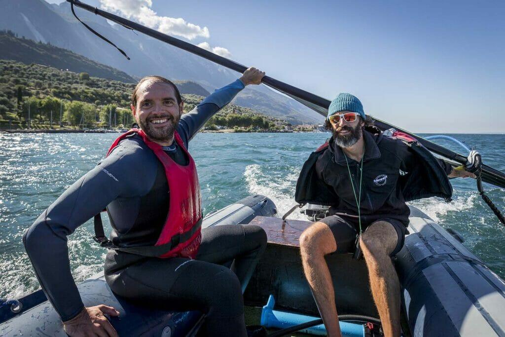 07 corso base di windsurf lago di garda 1024x683