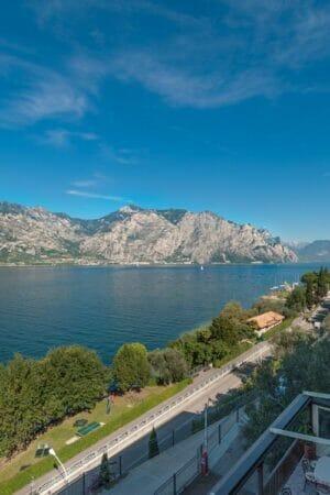 villa carmen lake view from a balcony