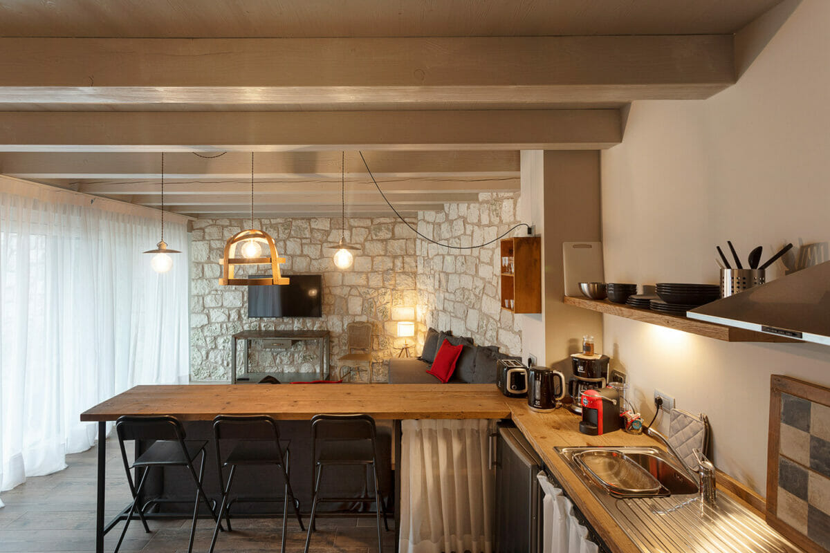 sunset residence cucina