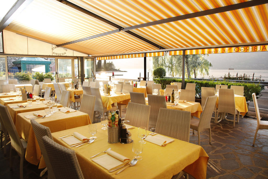 san remo external terrace of the restaurant