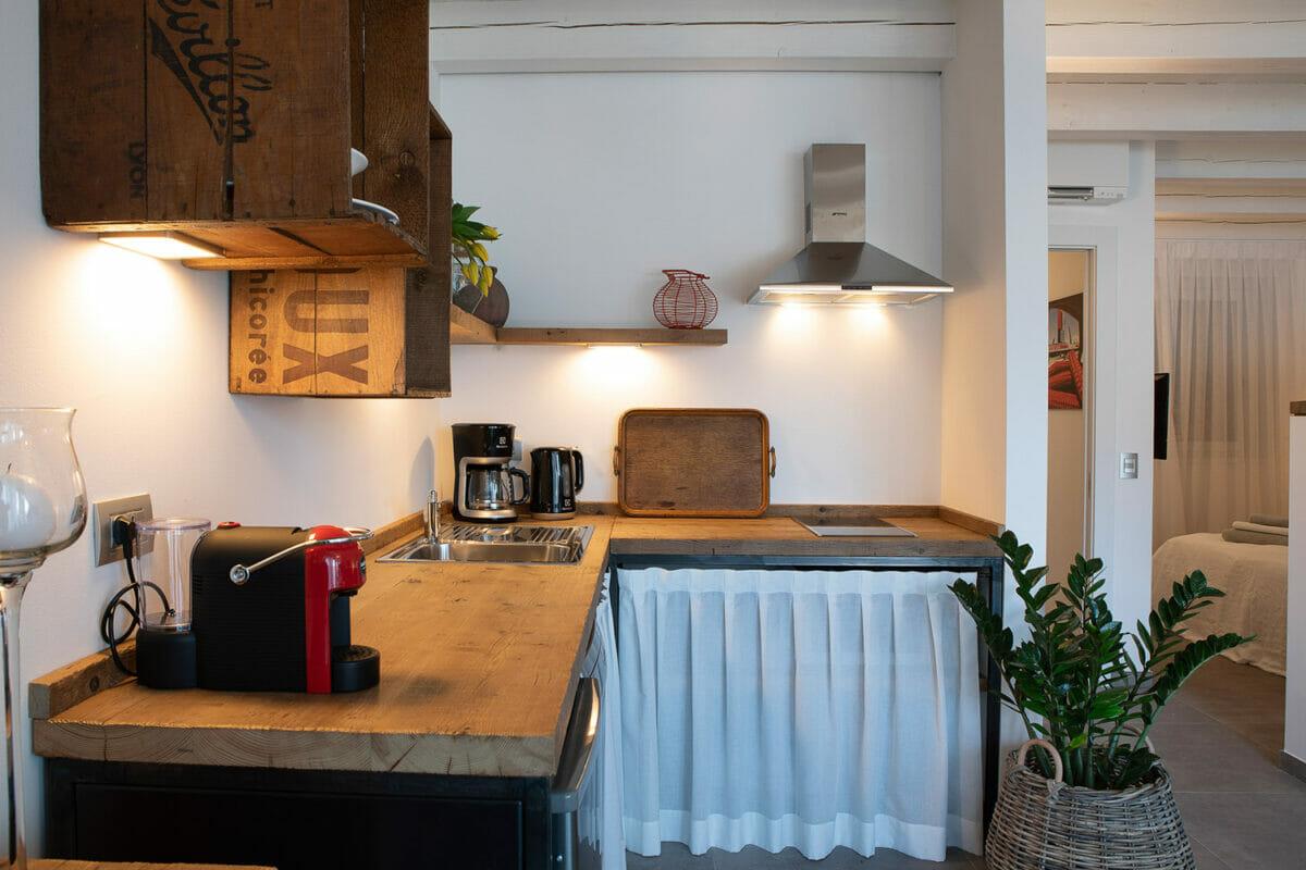 sunset residence banco cucina