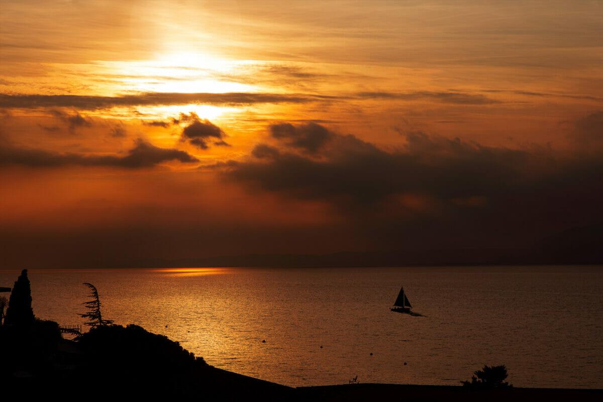 sunset residence tramonto