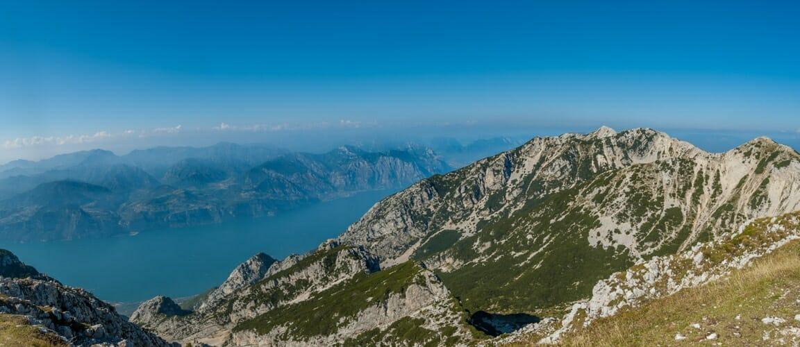 monte baldo and lake garda