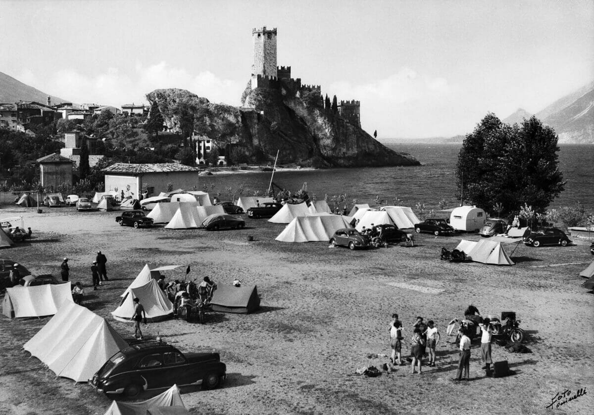camping and castle of malcesine