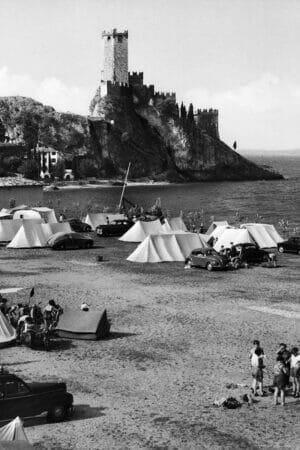 campeggio e castello di malcesine