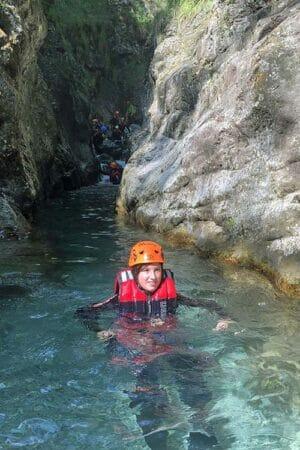 Canyoning Palvico piscina
