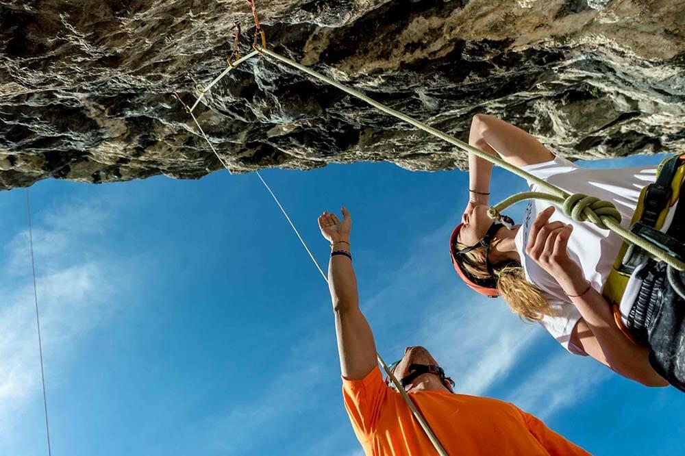 Corso prova di arrampicata