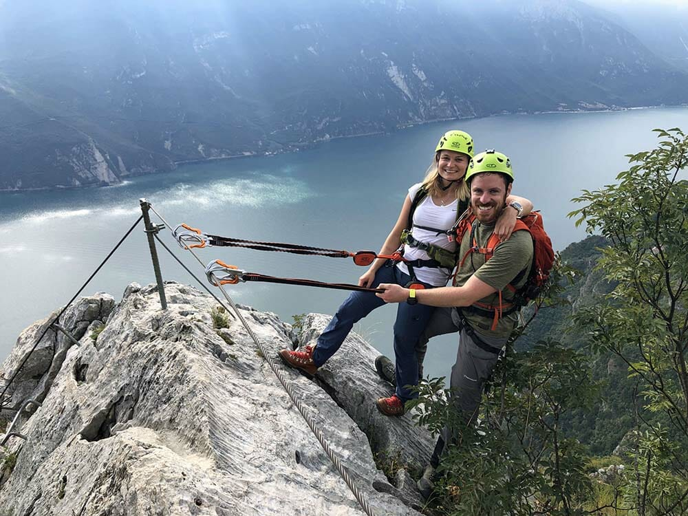 Via ferrata Cima Capi Lago di Garda