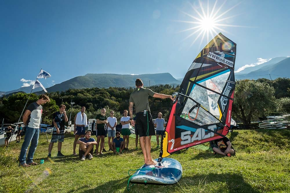 team building windsurf
