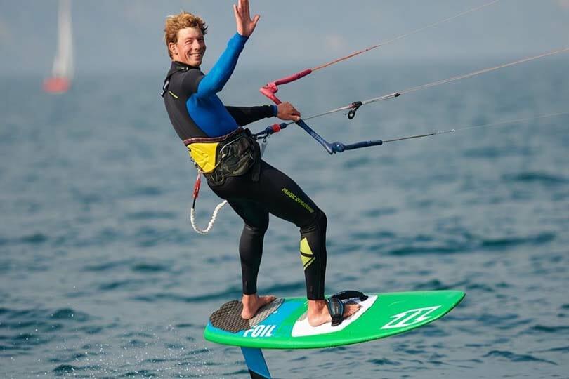 kitefoilkurs am Gardasee