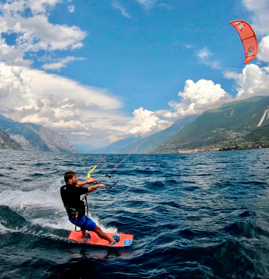 kitesurf lernen basis