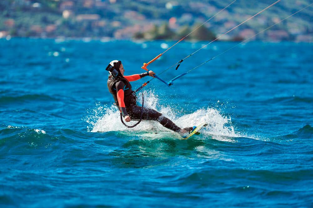 kitesurf lernen basis func