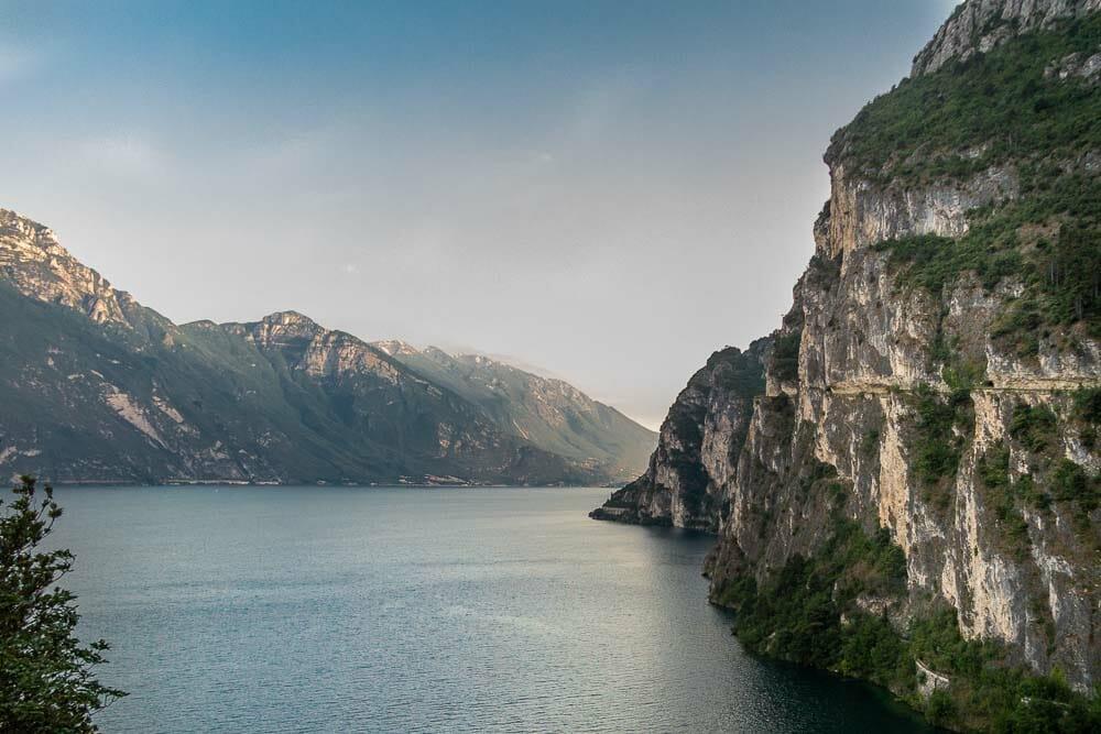 ponale path and lake garda