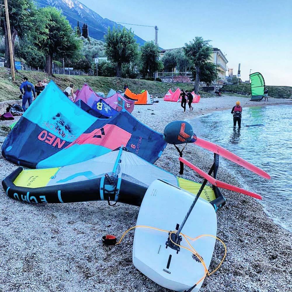 kite point attrezzatura